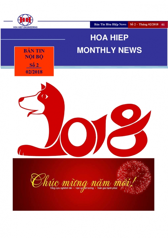 NEWS IN FEBRUARY 2018
