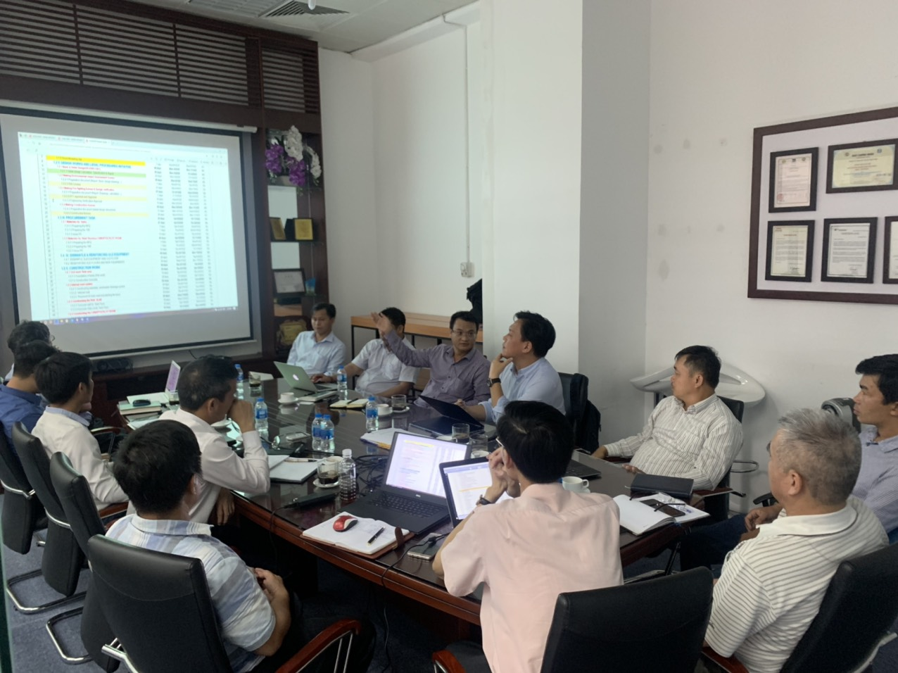 AK VINA PROJECT KICKOFF MEETING